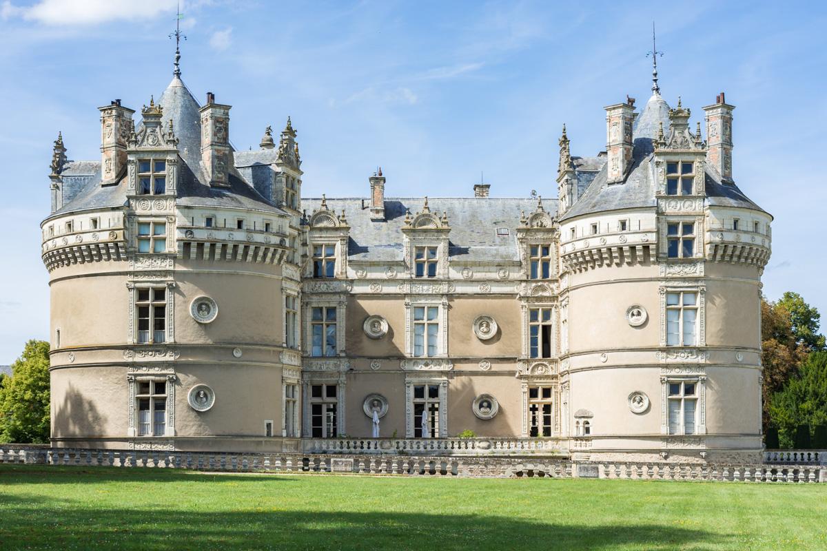 chateau du Lude vu de la terrasse
