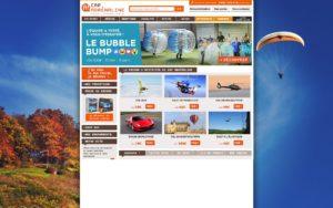 Photo site web Cap Adrenaline