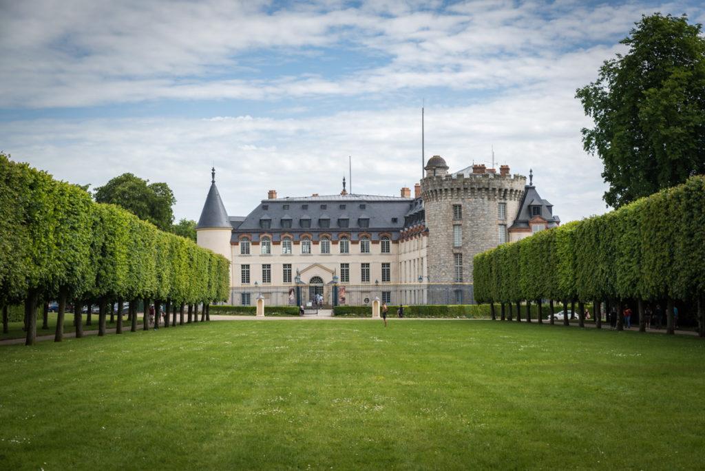 Vue sur le Chateau de Rambouillet