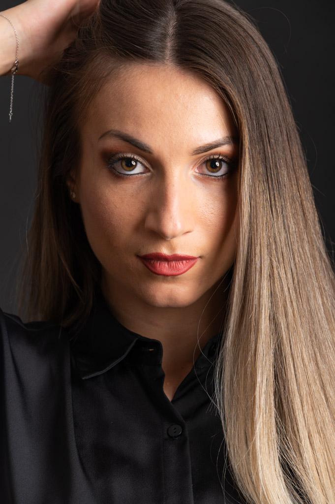 shooting photo studio, femme, belle femme