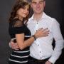 couple, séance photo studio, trop beaux