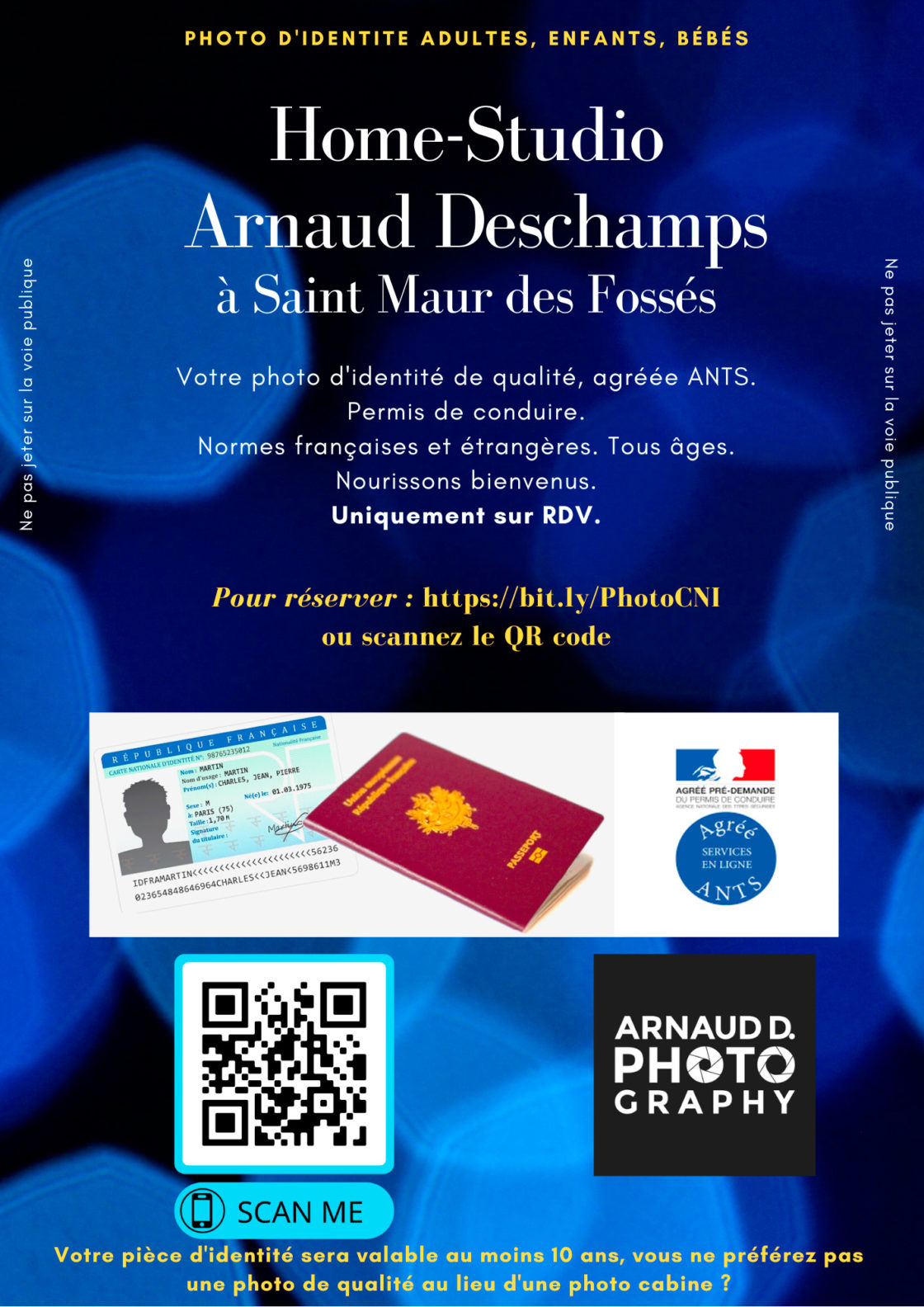 Flyer, Photo d'identité, Arnauddphotography